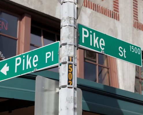 Pike and Pine Streets